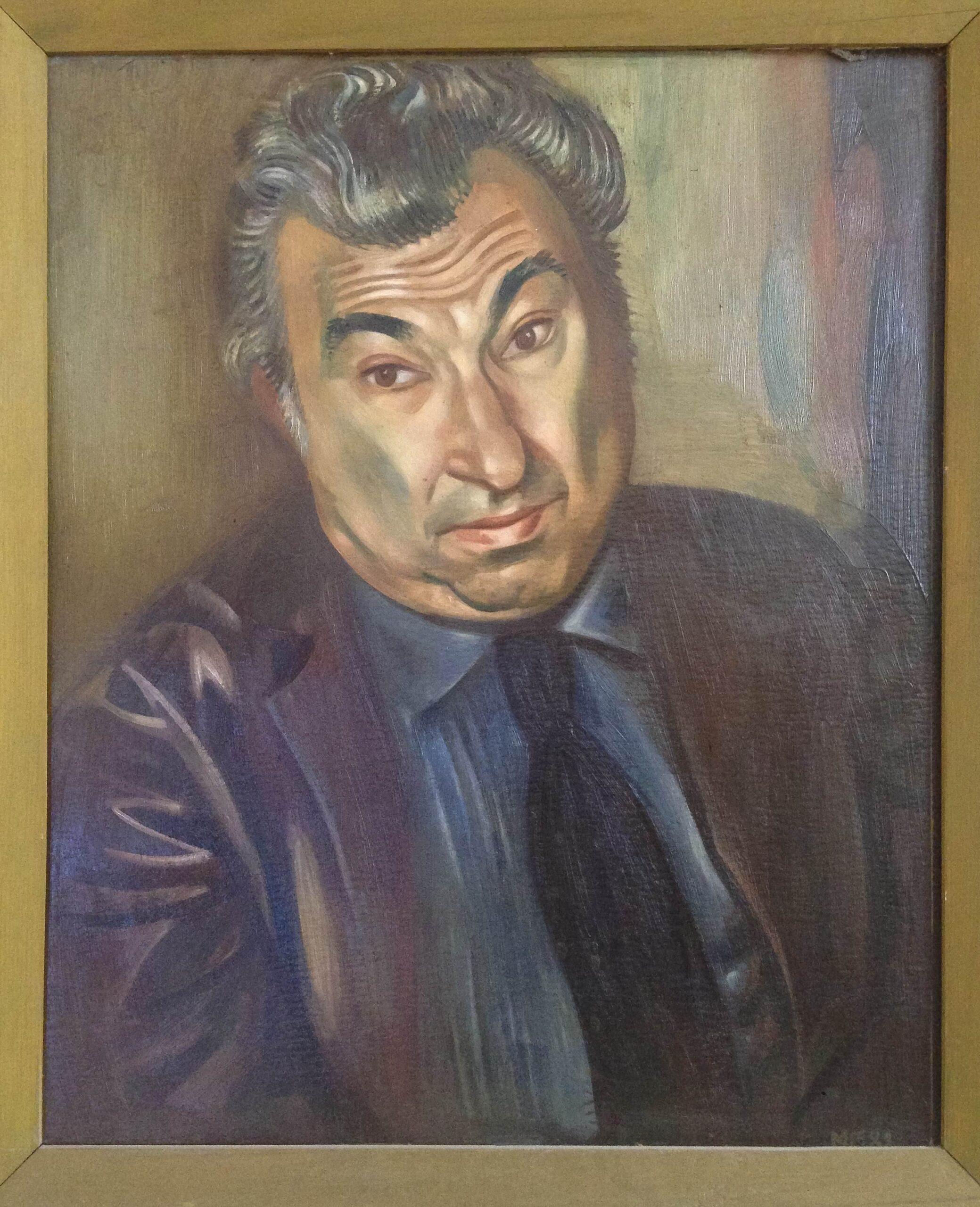 портрет живопись Лев Горелик