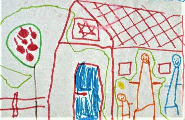 Рисунок. Альма, 4.5 года