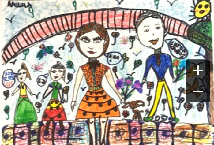 Рисунок. Арина, 7 лет
