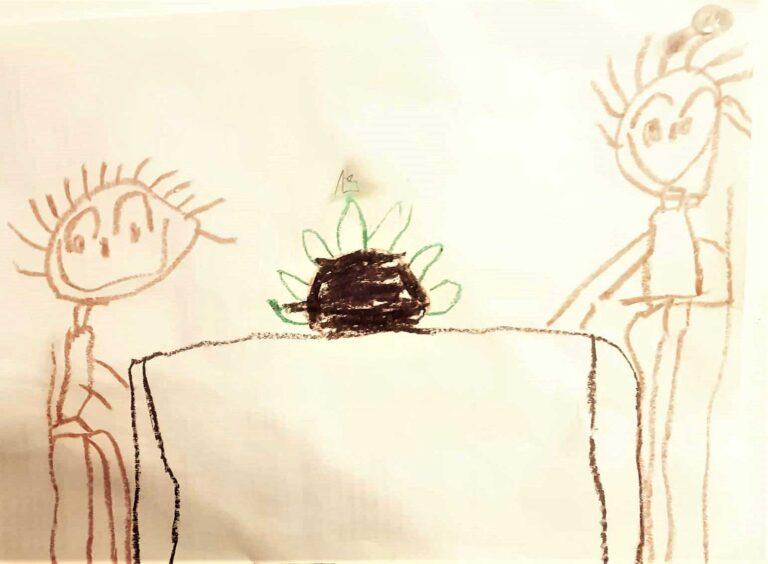 рисунок, Оз, 4 года