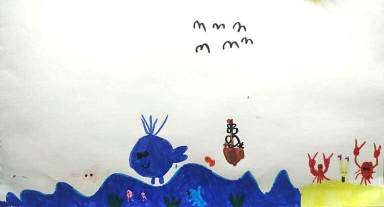 Рисунок. Сиван, 5 лет