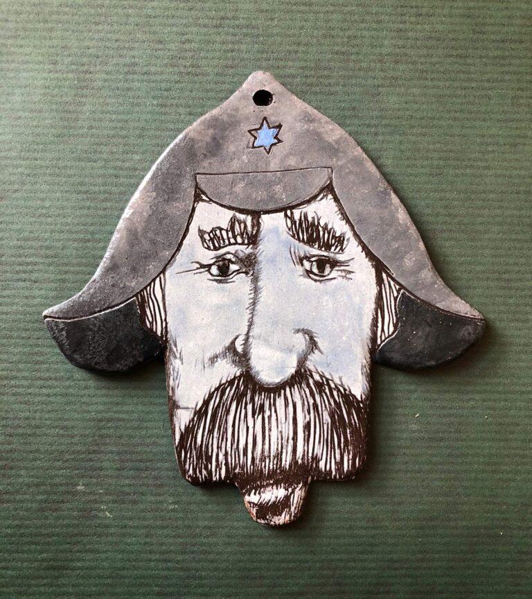 Хамса Еврейский буденовец, керамика