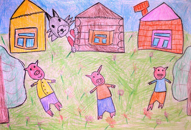 Рисунок. Леман, 5 лет