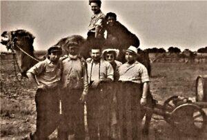 групповое фото - В саратовских степях