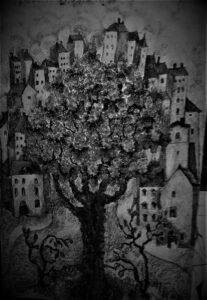 иллюстрация - Ночник - Ирина Горелик