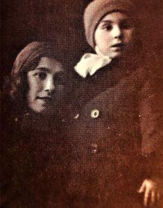фотопортрет - мама и львенок