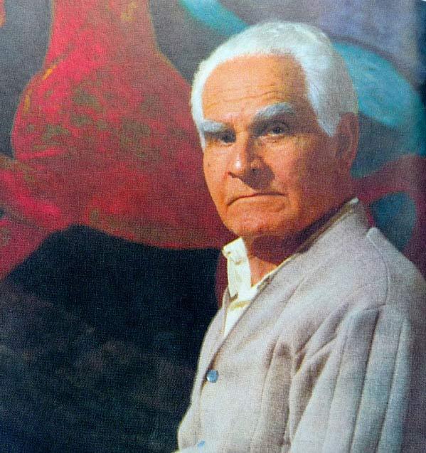 портрет Ладо Гудиашвили