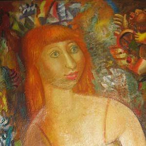 портрет живопись Ирина Горелик