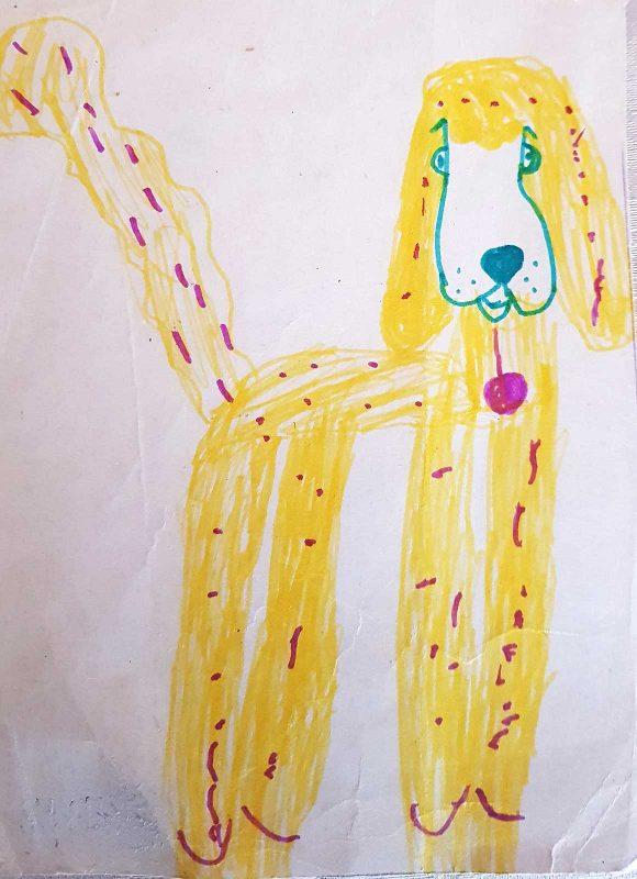 Собака. Илья, 5 лет
