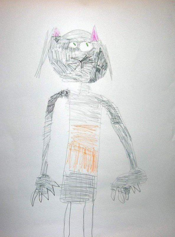 Кот. Рисунок. Гиора