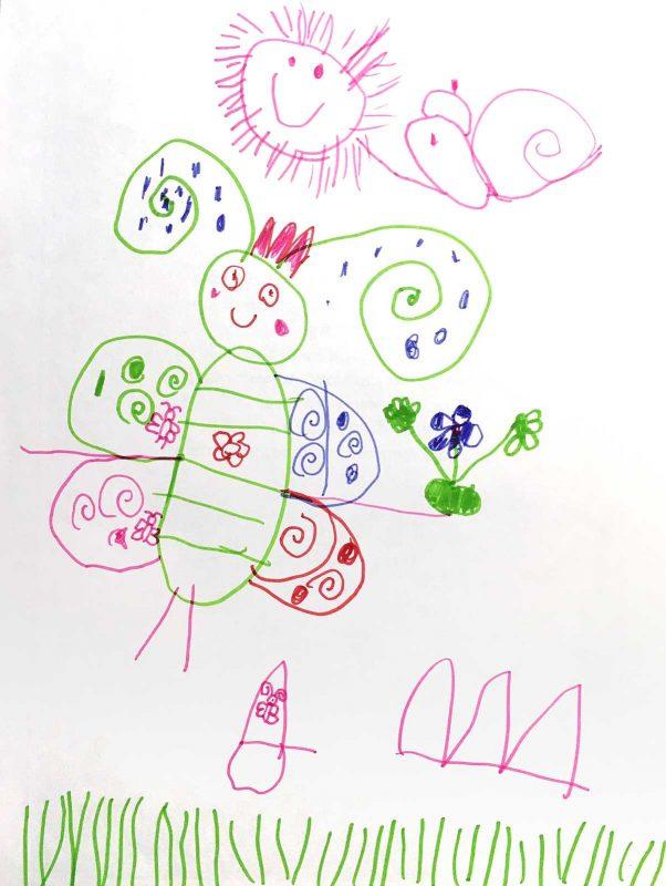 Мушки. Амалия, 7 лет